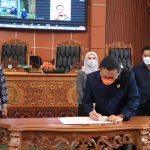 DPRD Kota Depok Laksanakan Rapat Paripurna Penyampaian Hasil Reses, Penetapan Propemperda 2022 dan Penyampaian 3 Raperda Kota Depok